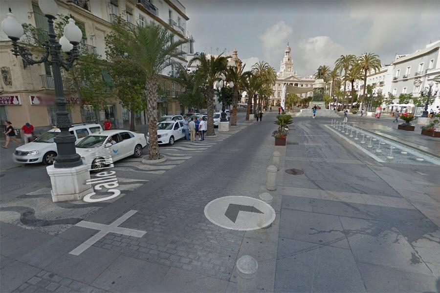 Paradas de Taxi en Cádiz 21
