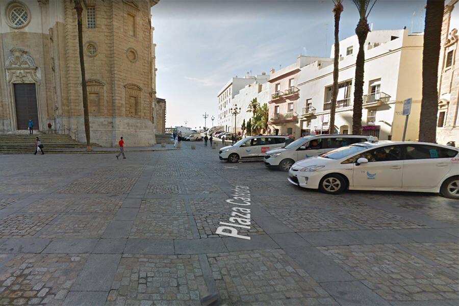 Paradas de Taxi en Cádiz 15