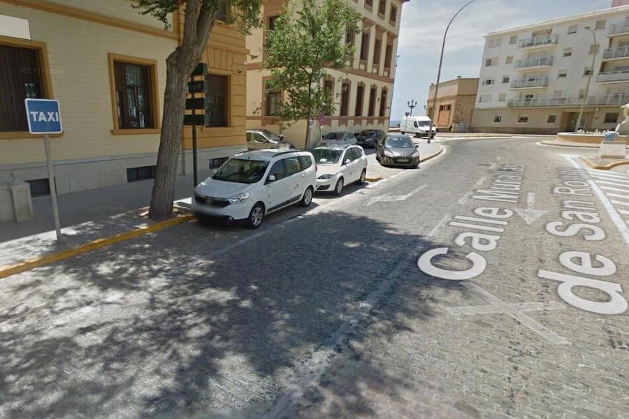 Paradas de Taxi en Cádiz 1