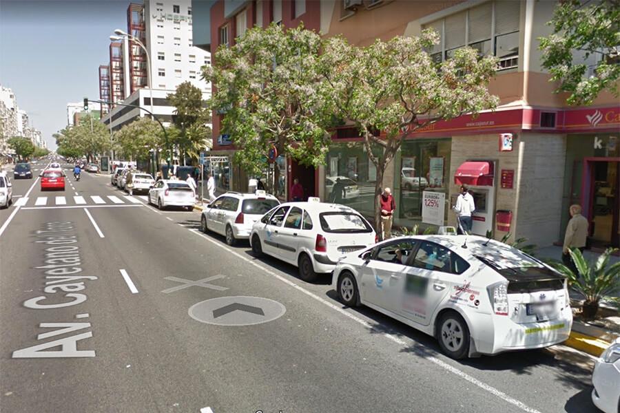 Paradas de Taxi en Cádiz 8
