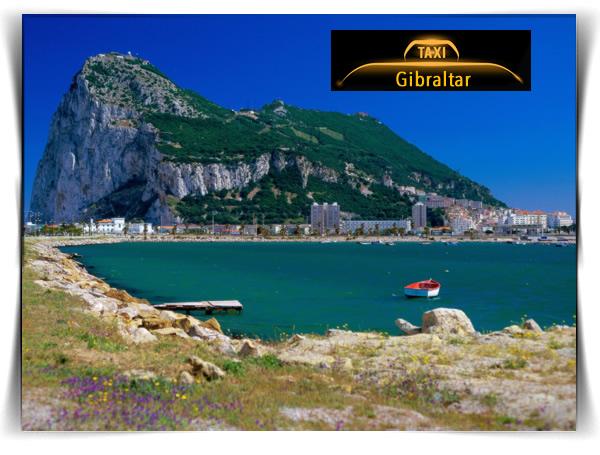 Gibraltar. Punta de Europa. Haga turismo en taxi. Precio 4 pax por taxi